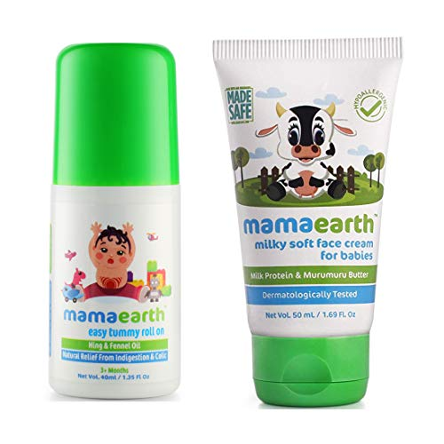 Mamaearth Milky Soft Natural Baby Face Cream for Babies 50mL(Pack of 2)