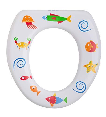 Rotho Babydesign Soft WC-Sitz, Gepolstert, Ab 18 Monaten, Max. 50 kg Belastung, Weiß, 20431 0001