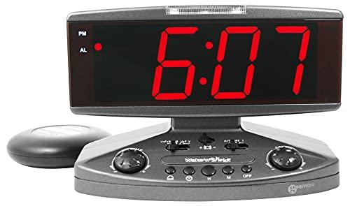 Geemarc Wake n' Shake Jumbowecker mit Vibration (95 dB)