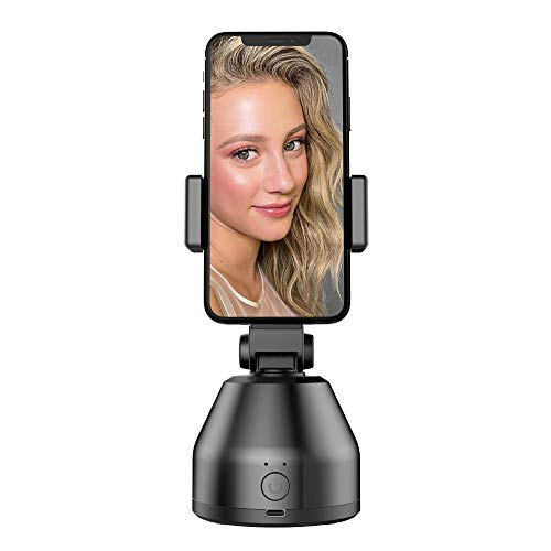 Stabilizzatore Smartphone Gimbal,Selfie Stick,Rotazione di 360 °, supporto per telefono con fotocamera con rilevamento automatico degli oggetti, supporto per fotocamera Vlog per telefono
