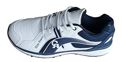 CA Elite Power Cricket Shoes (EU-Size 43)