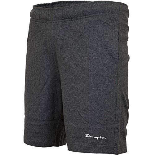Champion Logo Bermuda Shorts (L, Grey)