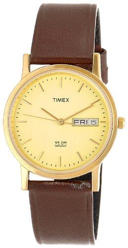 Timex Classics analógica Champagne Dial Hombres Reloj de–A501