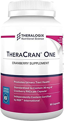 TheraCran One Cranberry Supplement | 36mg PACs Per...