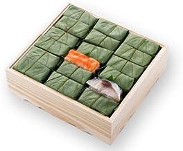 [ 高野街道名産 柿の葉寿司 ] 柿の葉すし(鯖・鮭)36個入