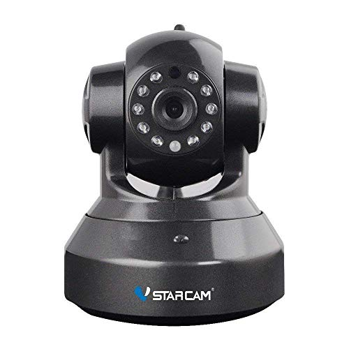 Cdycam 720P HD Remote WiFi IP-camera, Indoor Draadloze Beveiligingscamera Pan/Tilt/Zoom Surveillance met Nachtzicht, 2 Manieren Audio Bewegingsdetectie en Multi Gebruikers Ondersteuning voor Baby Huisdier