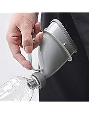 2pcs Urinoir Outdoor Reistoilet, Unisex Potje Urinoir voor Auto, Mobiel Toilet Draagbaar Urinoir voor Auto, Herbruikbare Plas Trechter voor Outdoor Reizen Kamperen Wandelen Reizen