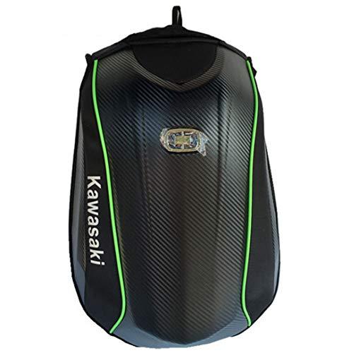 Xiaoai's shop Motorrad Rucksack, kohlefaser wasserdichte große kapazität Rucksack, reiten Laptoptasche,A