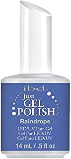 IBD Just Gel Soak Off UV LED Gel Nail Polish Lacquer 56596 Raindrops 14ml