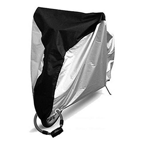 YRDDJQ Impermeable para Bicicleta Cubierta de Polvo de Lluvia Cubierta de Bicicleta Protección UV para Bicicleta Bicicleta Utilidad Ciclismo Cubierta de Lluvia al Aire Libre 4 Tamaño S/M/L/XL