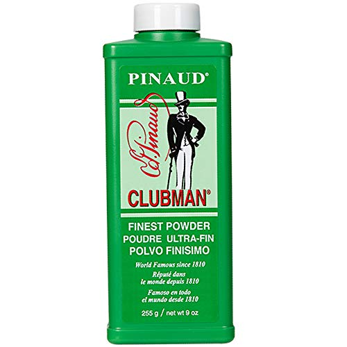 Clubman Pinaud Powder for After Haircut or Shaving, White, 9oz