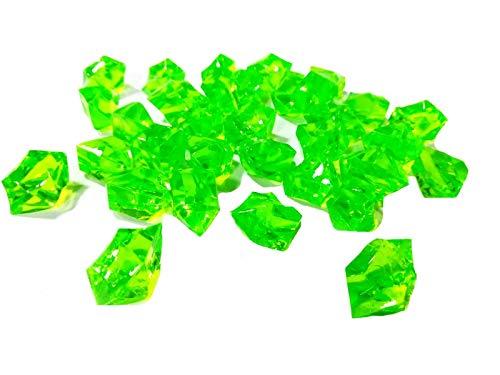 takestop® stenen ED_25637-97 stenen, groen, 200 g, decoratie voor aquarium, vaas, bruiloft, tuin