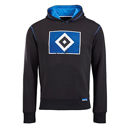 Hamburger SV Herren Hoody Kapuzenpullover Raute HSV Gr. S