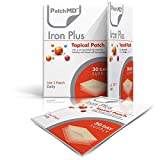PatchMD - Iron Plus Topical Patch - support healthy red blood cell formation - 30 day supply