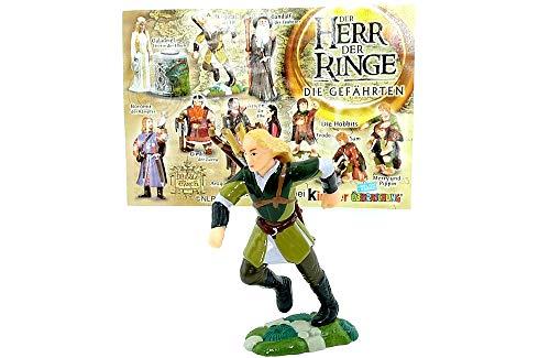 Kinder Überraschung Figur Legolas der Elb mit Beipackzetel (Herr der Ringe 1- DER HERR DER RINGE)