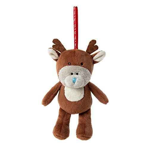Me To You XP301005 Tatty Teddy Reindeer Christmas Tree Decoration