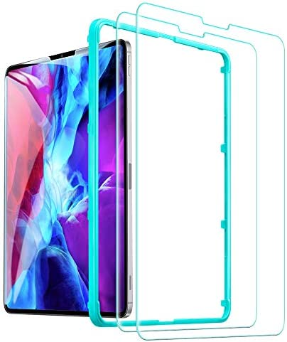 ESR Glass Screen Protector for The iPad Pro 12 9 2 Pack Face ID Compatible Free Installation product image