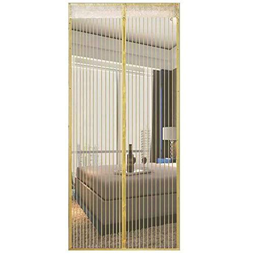 Magnetische vlieg Insect Screen Deur Hoge Dichtheid Anti-muggen Gordijn Stille Streep Versleuteld Scherm Venster 150x240cm B