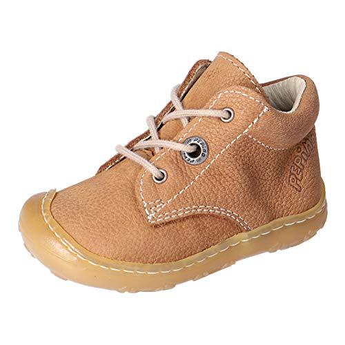 RICOSTA Unisex - Kinder Lauflern Schuhe Cory von Pepino, Weite: Weit (WMS),terracare, Kinder-Schuhe Spielen Freizeit,Curry,25 EU / 7.5 Child UK