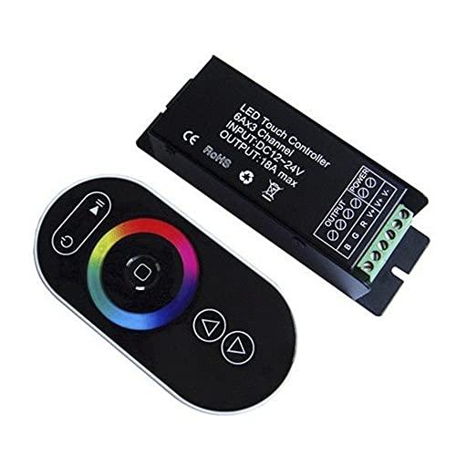 G015180 - Controlador para tiras LED SMD RGB 216W 12V-24V