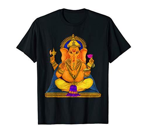 Ganesha Yoga Yogi Chakra Tshirt Namaste Guru Spirit T-Shirt