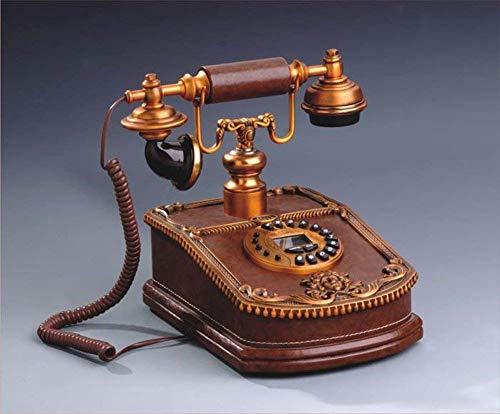 LHQ-HQ Estilo Europeo, [Retro], línea telefónica, Estilo Antiguo teléfono Antiguo, con Alambre-B