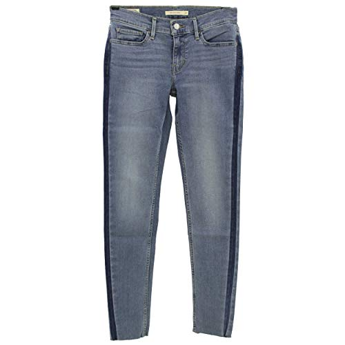 Levis, 710, Damen Damen Jeans Hose Stretchdenim Blue Galon W 26 L 28 [23067]