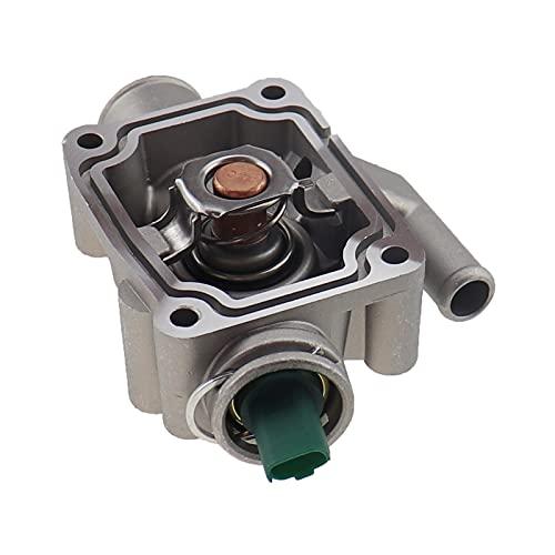 LUJING 1336.Z0,1336Z0 Termostato de refrigerante del motor con ajuste de la carcasa para Peugeot Partner 206/207/307/308/1007 Fit para Citroen C2 C3 C4 Aluminio