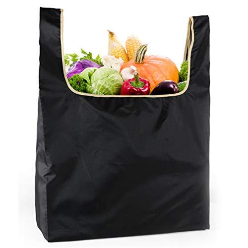 HMYLI Bolsas de comestibles Reutilizables, Bolsas Plegables Lavables Extra Grande Ripstop Lightweight Sturdy Gift Bolsa de Asas para IR de Compras