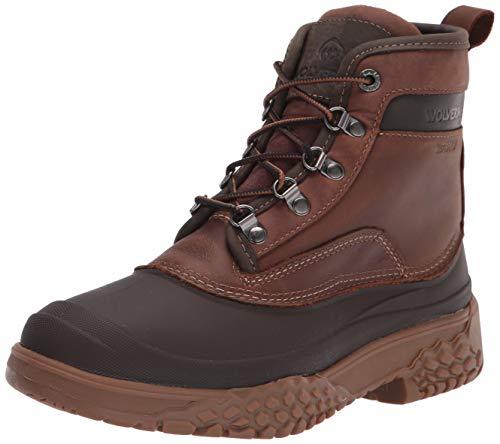 "WOLVERINE Men's Yak Insulated 6"" Boot Fashion, Brown, 10.5"