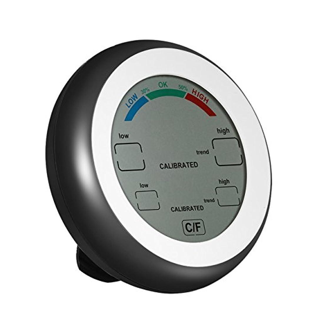 追い払うスチュワード発明するデジタル温度計、屋内および屋外の温度検出のワインセラーのための高精度の多機能の調節可能な温度 - 気象観測所,Black