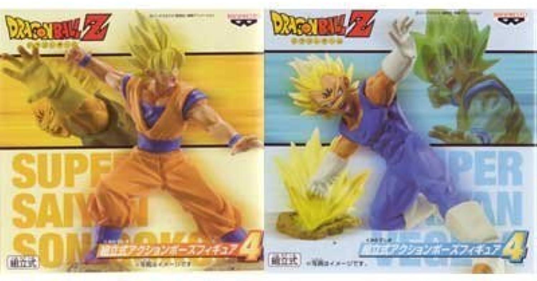 Dragon Ball Z prefabricated action pose figure 4 base Vegeta separately