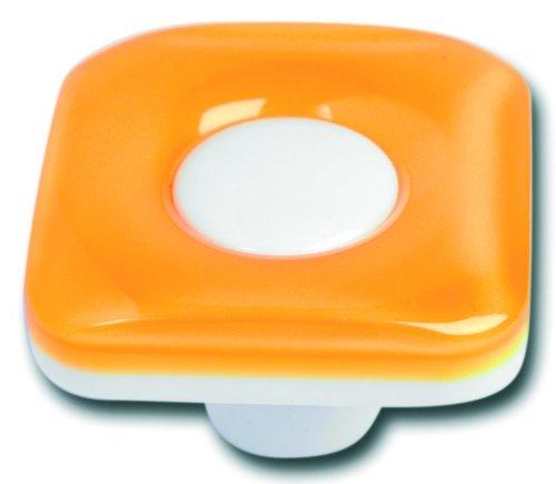 Young schwinn design poignée de meuble carré orange, brit american shop