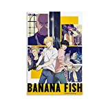 LOPOB Anime Banana Fish Canvas Art Poster and Wall Art Picture Print Modern Family Bedroom Decor Posters 12x18inch(30x45cm)