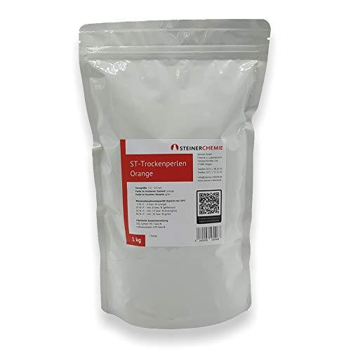 ST-Trockenperlen Orange, (Silikagel, Trockenmittel), regenerierbar, 1 kg Beutel