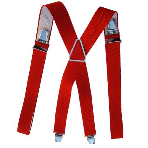 Bretelles 120 cm rouge