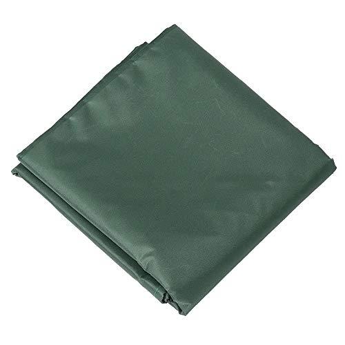 Honglimeiwujindian Gartenmöbelabdeckungen Billiardtisch Voll Fall Wasserdicht zu verhindern Schnee und Regen Gartenmöbel-Set Allwetterschutz (Farbe : Grün, Size : 190x125x80cm)