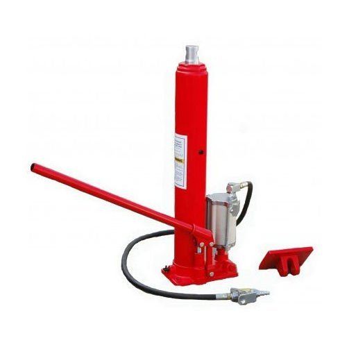 8 Ton Long Ram Air Pump Hydraulic Jack Cherry Picker Shop Lifts 16000 Pounds ideal to lift trucks, lawnmowers, farm vehicles and more hassle free