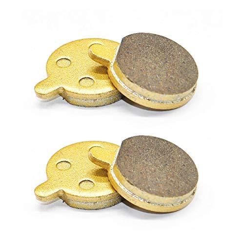 Yungeln Pastillas de Freno de Disco Pastillas de Freno de Scooter compatibles con Xiaomi M365 1S Pro Scooter eléctrico - 4 Piezas