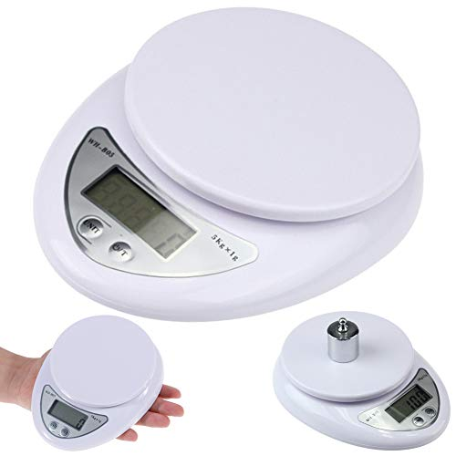 Digitale Keuken Weegschalen,5kg/1g Precieze Keuken Digitale LED Elektronische Schaal Voedsel Gewicht Meetgereedschap multi