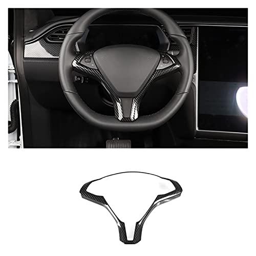 Prospective Windows Windows Windows Panel de Control Atrás Vent ABS Decoration Fit para Tesla Modelo S X 2014-2019 Accesorios de actualización del Interior (Color Name : D)