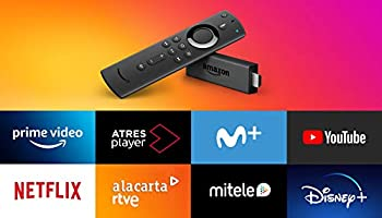 Amazon Fire TV Stick con mando por voz Alexa | Reproductor de contenido multimedia en streaming