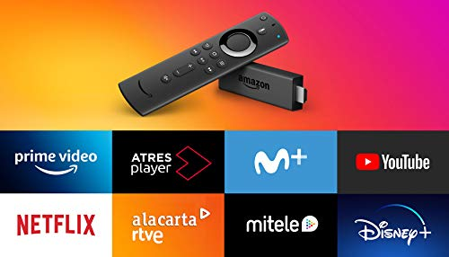 Amazon Fire TV Stick con mando por voz Alexa | Reproductor de contenido multimedia en streaming 🔥