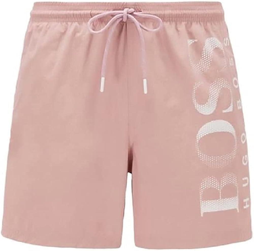 Hugo Boss Men's Standard Octopus Swim Shorts XXL Classic Trunks Pink