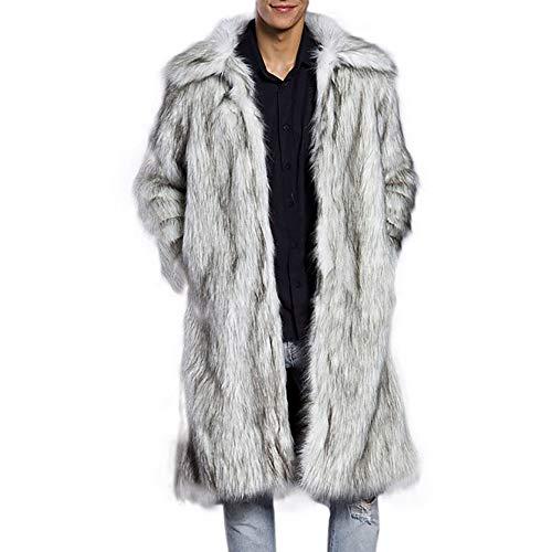 KPPONG 2018 Wintermode Herren Warme Dicke Faux Parka Outwear Strickjacke Mantel Mantel Jacke