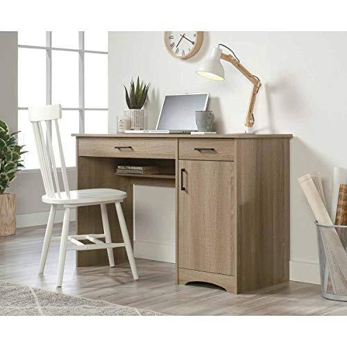 Teknik Home Office Essentials - Escritorio para ordenador, color roble