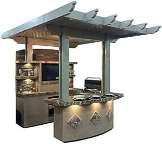 St Croix BBQ Island Outdoor Kitchen - LP