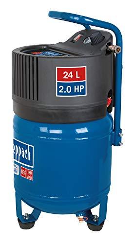 scheppach Kompressor HC24V 24L - 1500 Watt | 10 bar | Ansaugleistung 180L/min | ölfrei