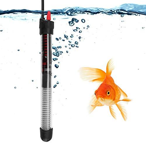 Semme 25W / 50W / 100W / 200W / 300W 220V Acuario Sumergible Fish Tank Calentador de Agua automático Enchufe de la UE(欧规100W(220V))