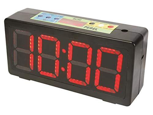 Velleman Chronometer/Uhr für Sportwettkämpfe, Stoppuhr - Countdown - Intervall - Alarm